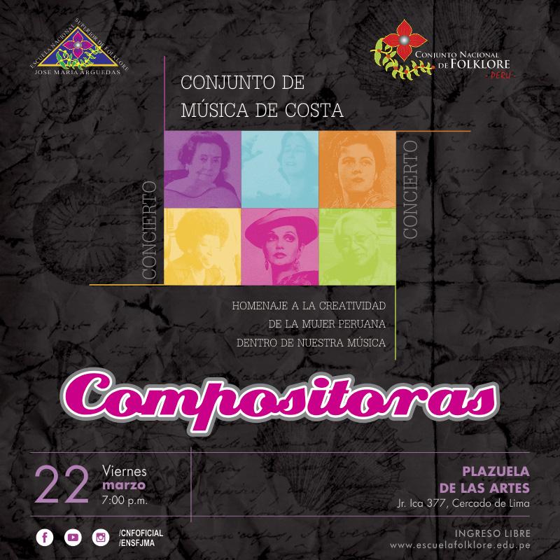 Compositoras -  Conjunto de Música de Costa